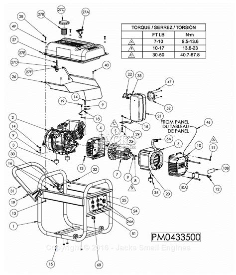 powermate  coleman pm parts diagram