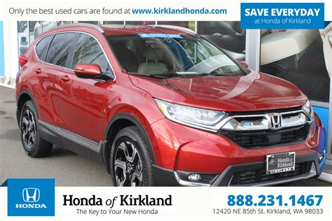 2017 Honda Cr V Touring Awd by Certified Pre Owned 2017 Honda Cr V Touring Awd Sport