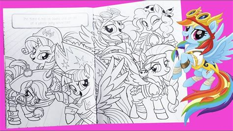 pony  coloring  kids mlp colouring pages