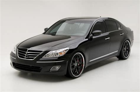 Hyundai's Trio of SEMA Show Genesis Sedan Concepts   Carscoops
