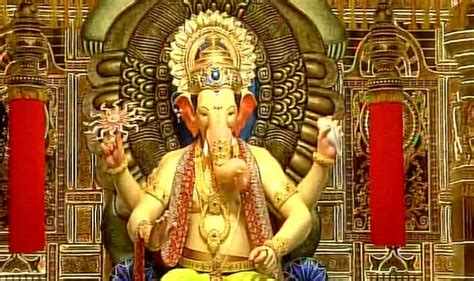 lalbaughcha raja displayed for ganesh chaturthi 2017 india