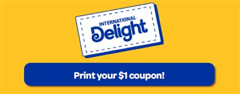 The first time i thought, must have been a mistake. New $1/1 International Delight Coffee Creamer Coupon - $0.67 at Publix + More Great Deals ...