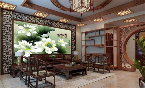 HD wallpapers interior design chinese style