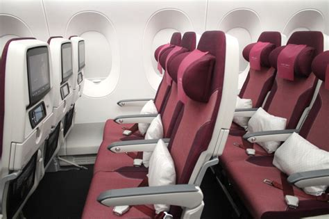 siege premium economy air look qatar airways 39 business class and economy
