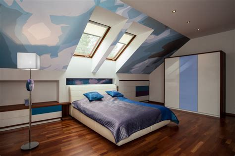 Modern Bedroom Interior Design Computer Generated Image by 31 Attic Bedroom Ideas And Designs