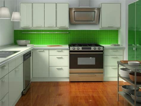 cuisine blanche et verte cuisine verte idées pour un décor moderne et rafraichissant
