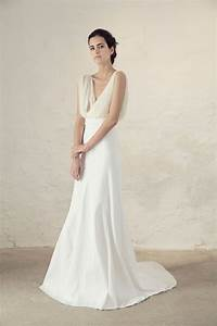 cortana bridal collection for boho and modern brides With plain white wedding dresses