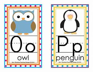 design blog With abc letters for classroom