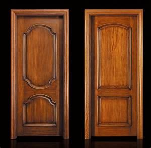 tour de porte en bois myqtocom With porte de garage avec porte bois massif interieur