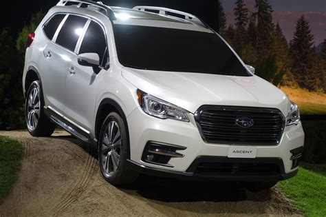 silver side 2019 subaru ascent arrives with 19 cupholders automobile