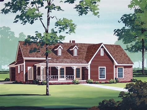 Humboldt Country Ranch Home Plan 020d-0176