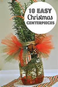 Simple Christmas Centerpieces to Make