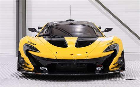 yellow  black mclaren p gtr    million track