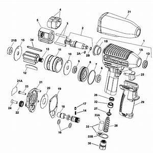 Impact Wrench  Super Duty  Magnesium Housing  Standard