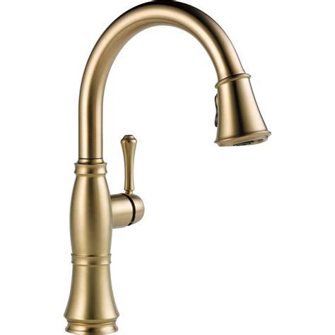 delta kitchen faucet bronze delta cassidy single handle pull sprayer kitchen