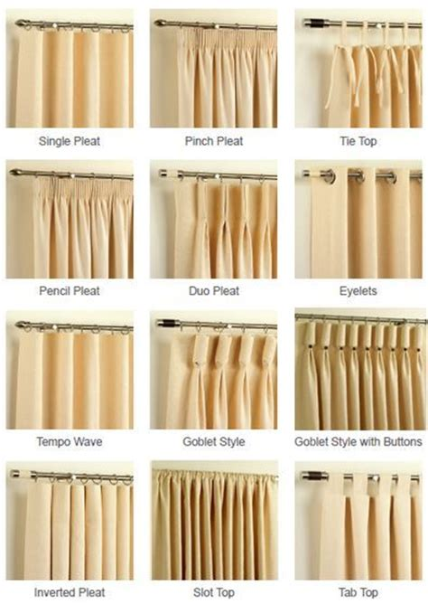 different types of drapes best 25 curtain styles ideas on curtains