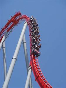 Intimidator at Carowinds - First Drop - CoasterCritic