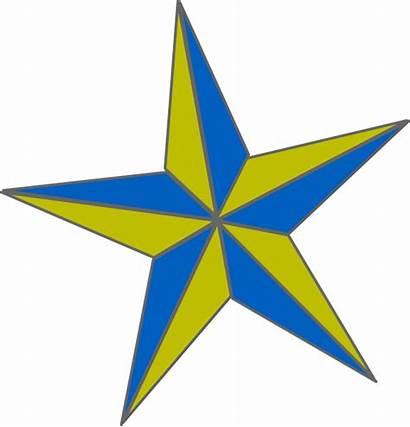Gold Star Clip Naut Clipart Clker