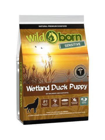 wildborn wetland duck puppy sensitive kg trockenfutter