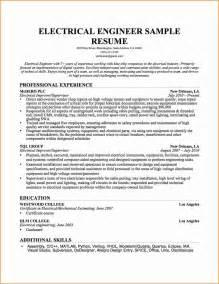 Engineering Graduate Resume Format by 10 Graduate Electrical Engineering Resume Invoice