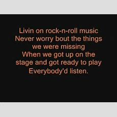 Rock And Roll Band By Bostonwith Lyrics Youtube