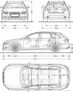 Dimension Audi A4 : the blueprints cars audi audi a4 allroad quattro 2010 ~ Medecine-chirurgie-esthetiques.com Avis de Voitures
