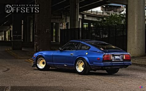 Datsun Rims by Wheel Offset 1980 Nissan 280zx Aggressive 1 Outside Fender