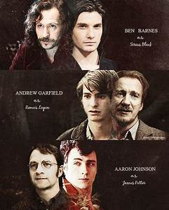 Image de sirius black, james potter, and remus lupin ...