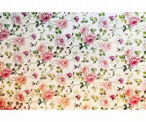 Vintage Flower Print Background Paper Textures Stock Pictures
