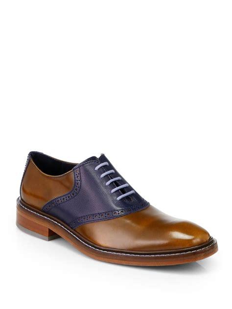 mens light brown oxfords cole haan colton saddle oxfords in brown for men light