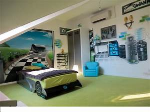 decoration chambre garcon paddock formule1 photo 1 1 With chambre d enfant garcon