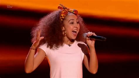 kenza blanka sings papaoutai blind auditions  voice uk