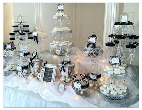 black and white candy table black and white candy table wadsworth mansion