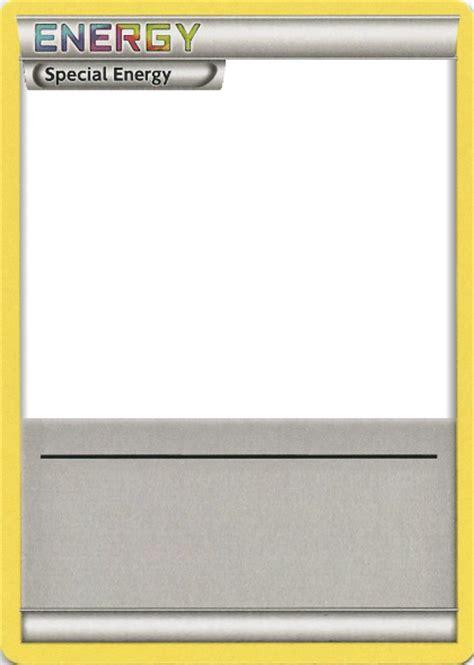 bw special energy rainbow text pokemon card blank