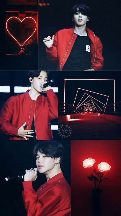 Bts Jimin Aesthetic Collage Wallpapers Mochi Park