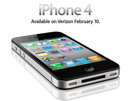 verizon iphone for verizon iphone 4 is here theapplegoogle