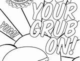 Coloring Grub Grill Ice Willie sketch template