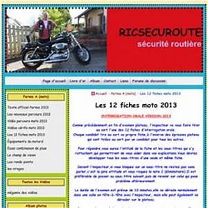 Fiche Moto 12 : permis moto pearltrees ~ Medecine-chirurgie-esthetiques.com Avis de Voitures