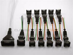 Fuel Injector Afm Tps Wiring Harness Connector Kit For