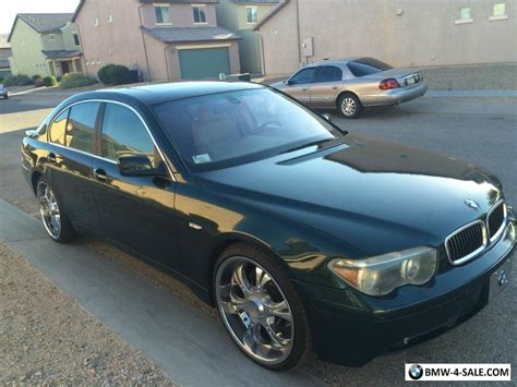 745i Bmw For Sale by 2002 Bmw 7 Series 745i For Sale In Canada