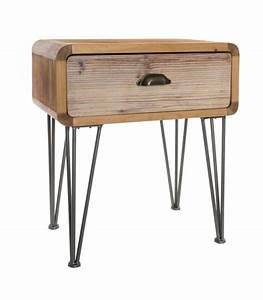 Table De Chevet Bois : tables de chevet et mobilier chambre design ~ Teatrodelosmanantiales.com Idées de Décoration