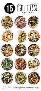15 Fall Pizza Recipes