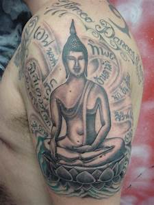 Buddhist Tattoos Designs, Ideas and Meaning   Tattoos For You