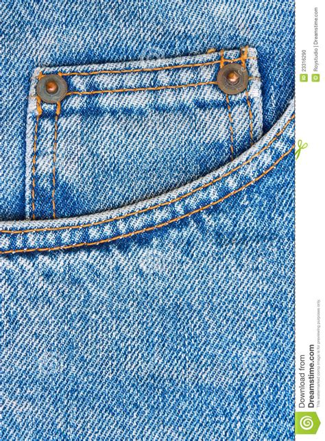 blue jeans trousers pocket  background stock photo