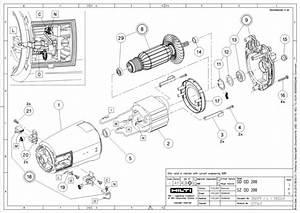 Hilti Core Drill Parts Diagram