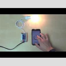 Control Lazybone Light Dimmer By Android Smartphone Via