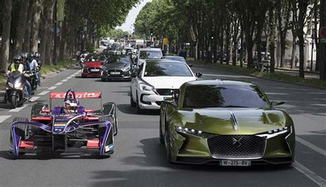 Electric Automobiles by Ds Automobiles Electric Technology From Racetrack To Road