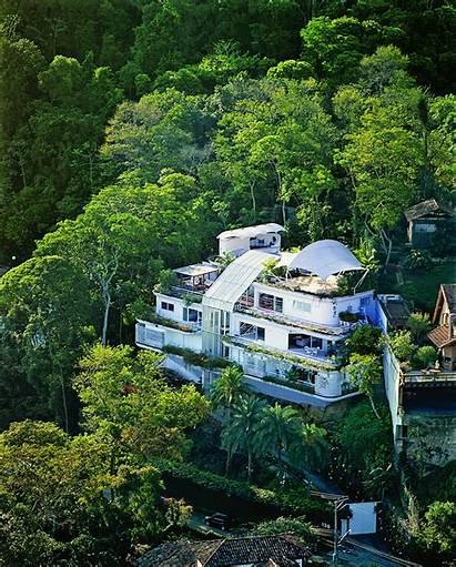 Brazil Homes Breathtaking Rio Janeiro Glass Tijuca