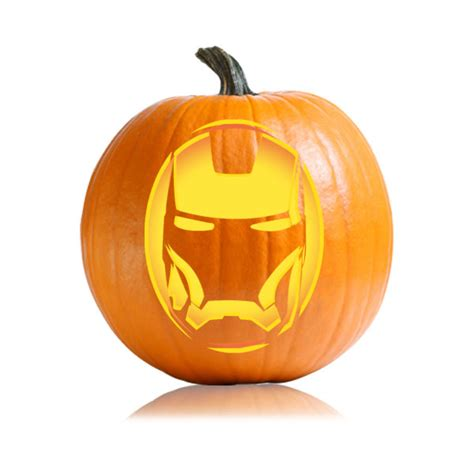 iron pumpkin stencils iron man pumpkin stencil