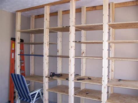 Garage Shelving Do It Yourself by Wall Shelves Do It Yourself Wall Storage Organization